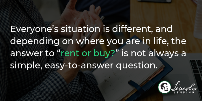 renting home vs buying home