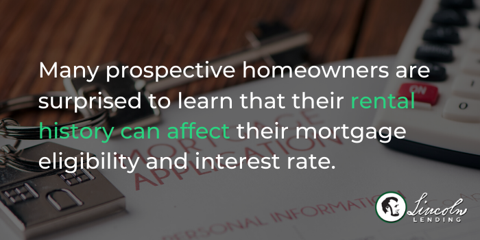 How Your Rental History Affects Your Mortgage - 1